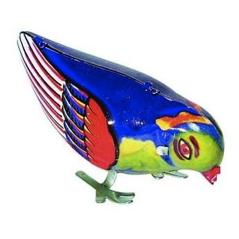Plechové hračky - Zobající ptáček