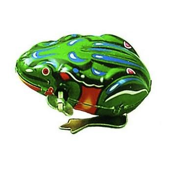 Plechové hračky - Skákací žába