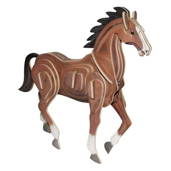 3D Puzzle - Kůň II