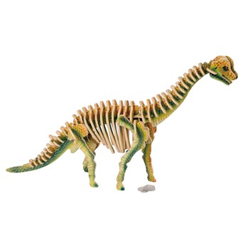 Puzzle - 3D Puzzle - Brachiosaurus barevný