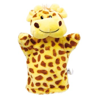 Divadla, loutky, maňásci - Maňásek na ruku Žirafa