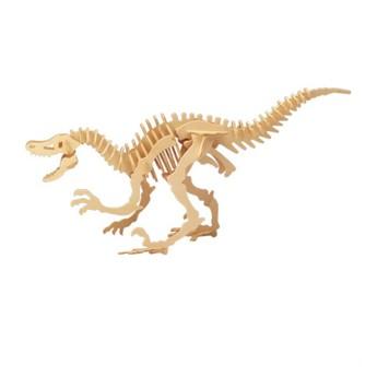 Puzzle - 3D Puzzle - Velociraptor