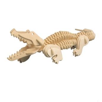 Puzzle - 3D Puzzle - Krokodýl