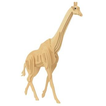 3D Puzzle - Žirafa