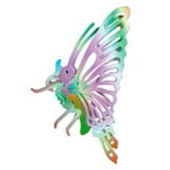 3D Puzzle - Motýl barevný