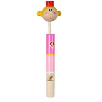 Dětské hudební nástroje - Dřevěná píšťalka - Královna