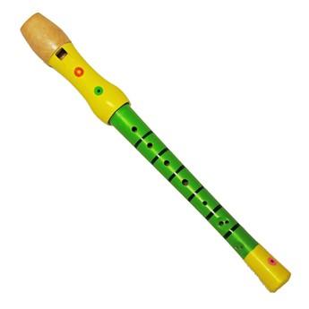 Dětské hudební nástroje - Flétna - zelená