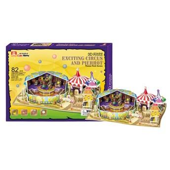 Puzzle - 3D Puzzle - Cirkus