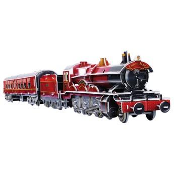 Puzzle - 3D Puzzle - Vlak barevný