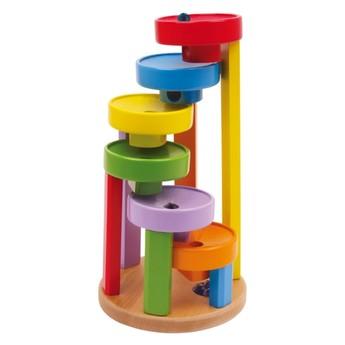 Motorické a didaktické hračky - Kuličková dráha barevná