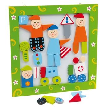 Puzzle - Magnetický obrázek postavičky