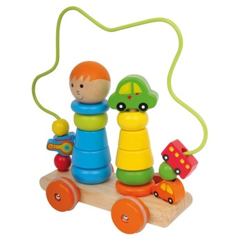 Motorické a didaktické hračky - Motorický vozík