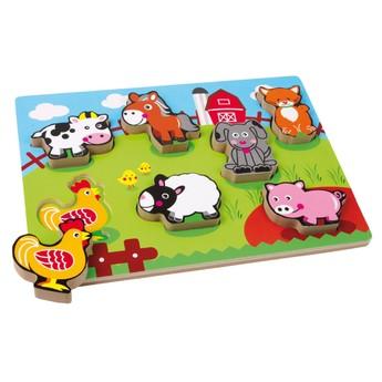 Puzzle - Puzzle Zvířecí farma