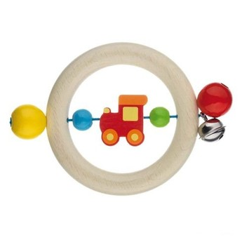 Pro nejmenší - Vláček – dřevěná motorická hračka pro miminka