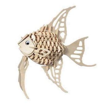 Puzzle - 3D Puzzle - Zlatá rybka