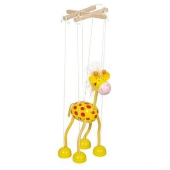 Divadla, loutky, maňásci - Marioneta – žirafa