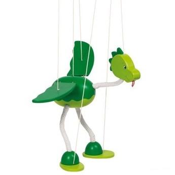 Divadla, loutky, maňásci - Marioneta – dinosaurus Nepomuk
