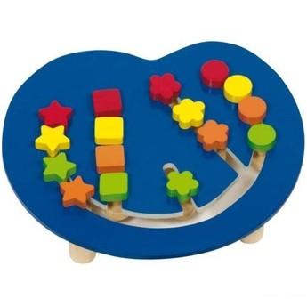Motorické a didaktické hračky - Motorický labyrint poznávej barvy a tvary