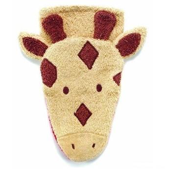 Pro nejmenší - Mycí žínka pro děti – malá žirafka