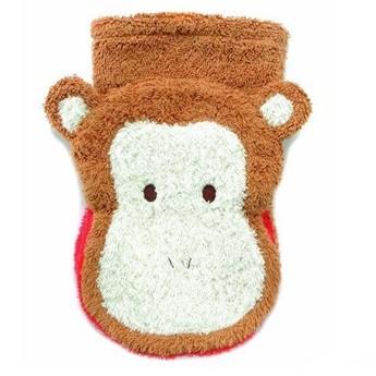 Pro nejmenší - Mycí žínka pro děti – malá opička
