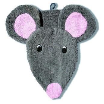 Pro nejmenší - Mycí žínka pro děti – malá myška