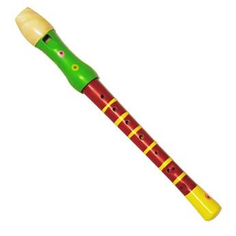Dětské hudební nástroje - Flétna - červená