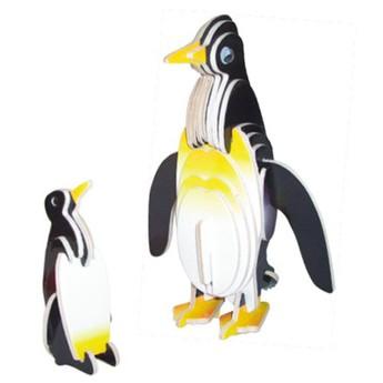 3D Puzzle - Tučňáci