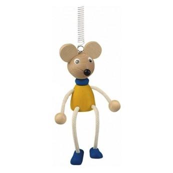 Dětský pokojíček - Myš na pružině