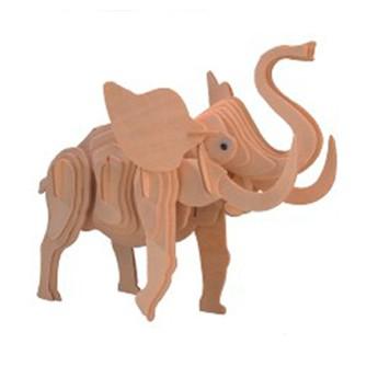 Puzzle - 3D Puzzle - Slon