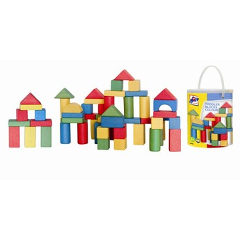 Kostky a stavebnice - Kostky 100 dílů