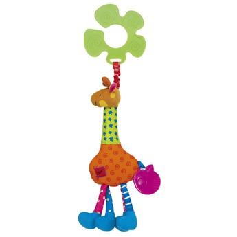 Pro nejmenší - Úchyt na kočárek - žirafa Igor