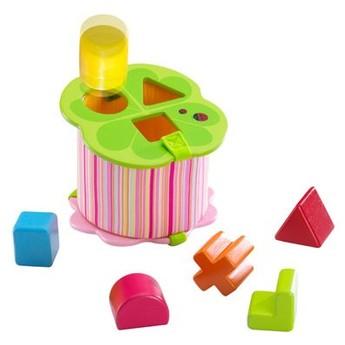 Motorické a didaktické hračky - Vkládačka na tvary čtyřlístek