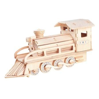 Puzzle - 3D Puzzle - Lokomotiva