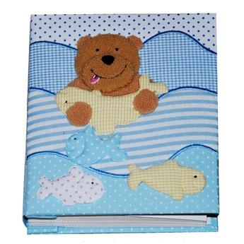 Dětský pokojíček - Dětské fotoalbum Medvídek s rybkou