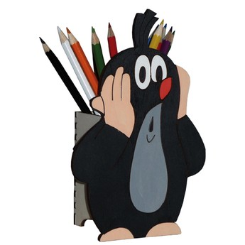 Školní potřeby - Tužkovník - Krteček