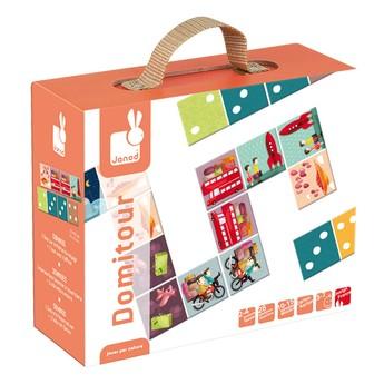 Hry a hlavolamy - Domino Cesta kolem světa