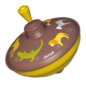 Plechové hračky - Káča Savana - hnědá