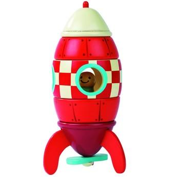 Pro kluky - Magnetická raketa