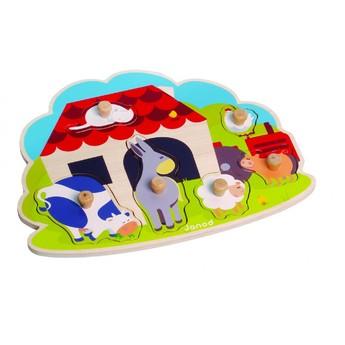 Puzzle - Puzzle Zvířátka na farmě