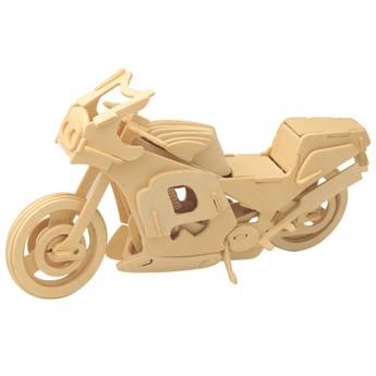 Puzzle - 3D Puzzle - Motorka závodní