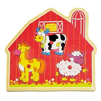 Puzzle - Vkládací puzzle Farma