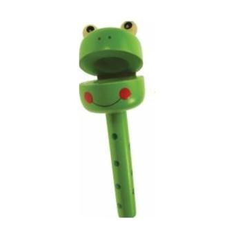 Dětské hudební nástroje - Klapačka Žába