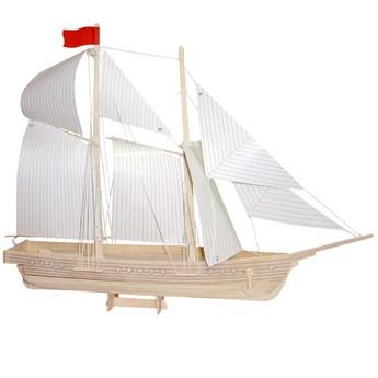 Puzzle - 3D Puzzle - Loď škuner