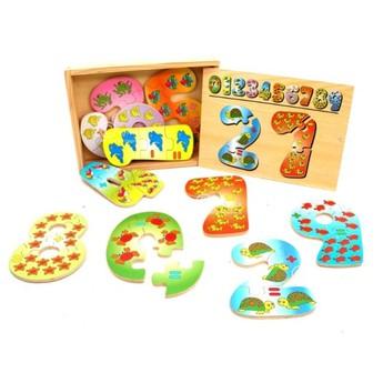 Puzzle - Puzzle Číslice
