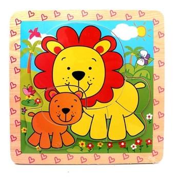 Puzzle - Mini puzzle Lvíčci
