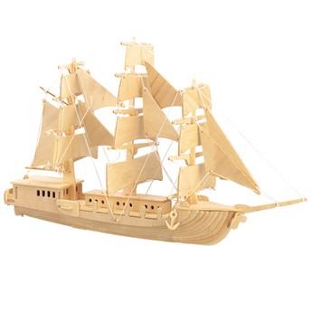 3D Puzzle - Plachetnice přírodní