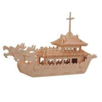 Puzzle - 3D Puzzle - Čínská loď