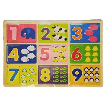 Puzzle - Puzzle Učíme si počítat