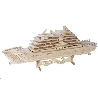 Puzzle - 3D Puzzle - Luxusní jachta