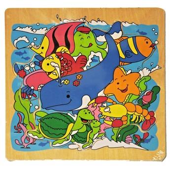 Puzzle - Dřevěné puzzle Podmořský svět